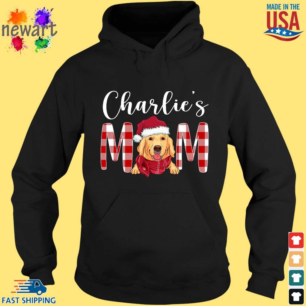 Santa Golden Retriever Charlie's Mom Christmas Sweater hoodie den