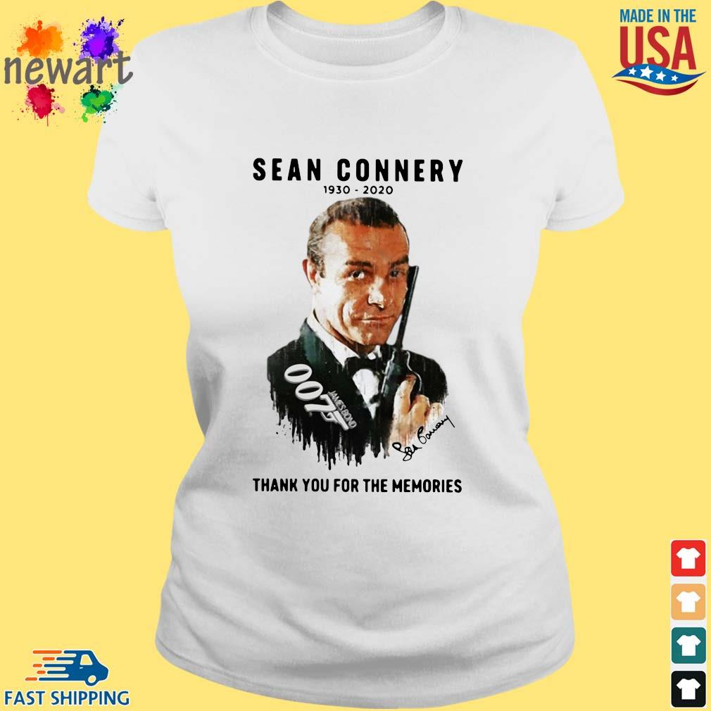 Sean Connery 007 1930-2020 thank you for the memories signature s ladies trang