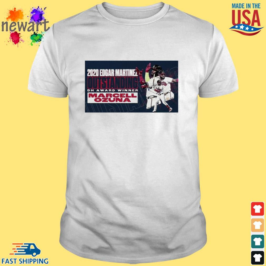 2020 Edgar Martinez Outstanding Dh Award Winner Marcell Ozuna Shirt