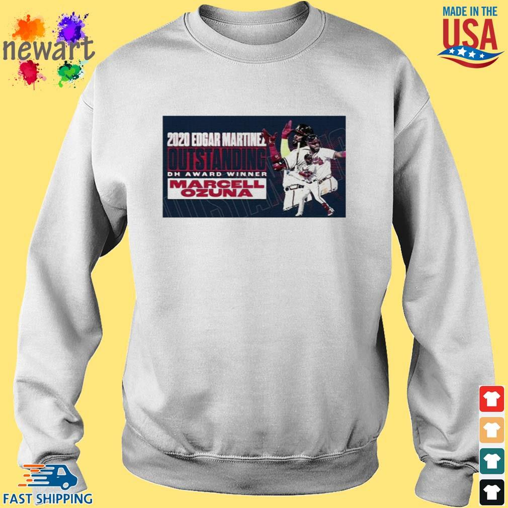 2020 Edgar Martinez Outstanding Dh Award Winner Marcell Ozuna Shirt Sweater trang