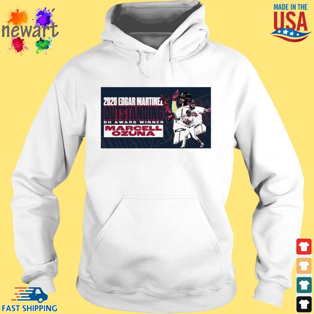 2020 Edgar Martinez Outstanding Dh Award Winner Marcell Ozuna Shirt hoodie trang