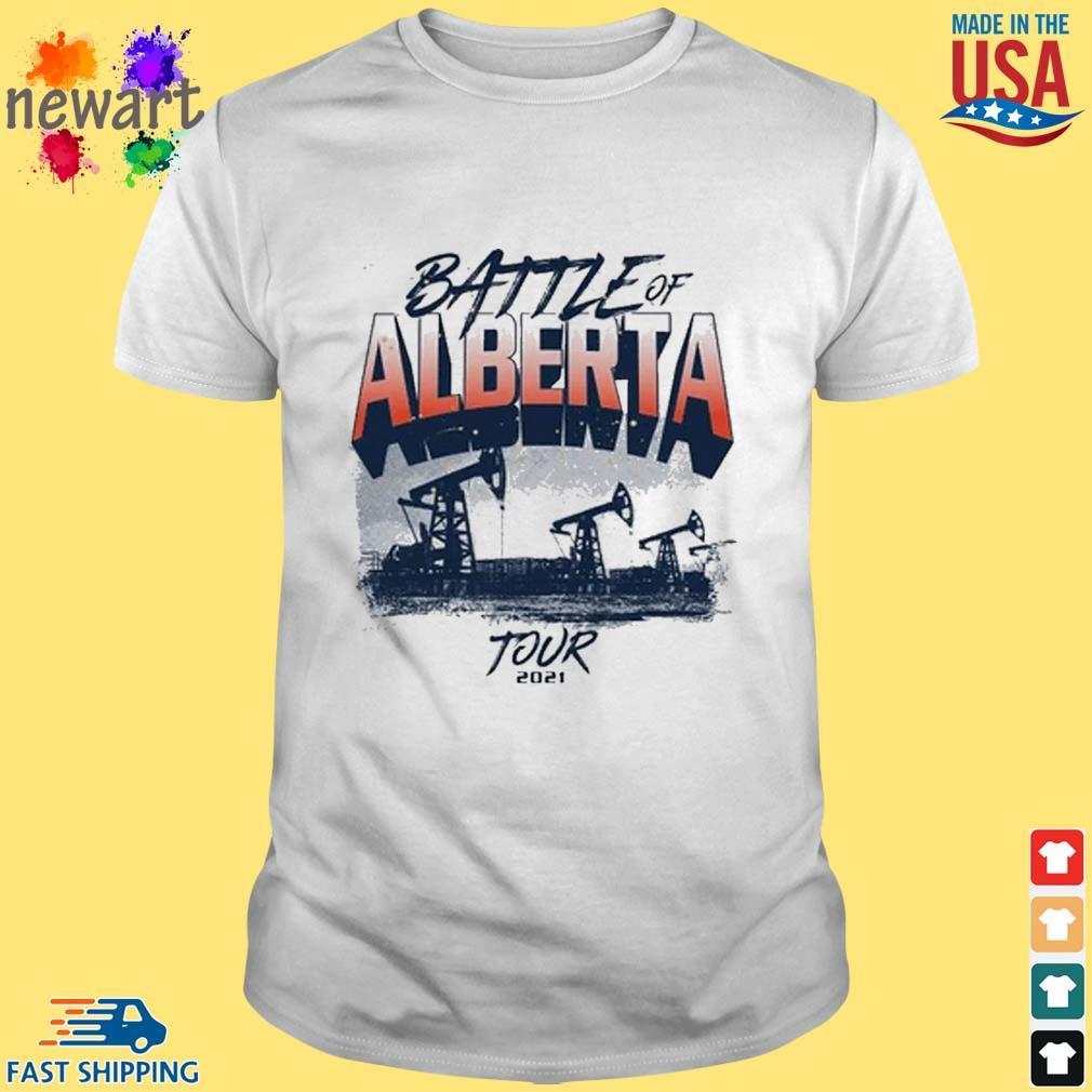 Battle of alberta edm shirt
