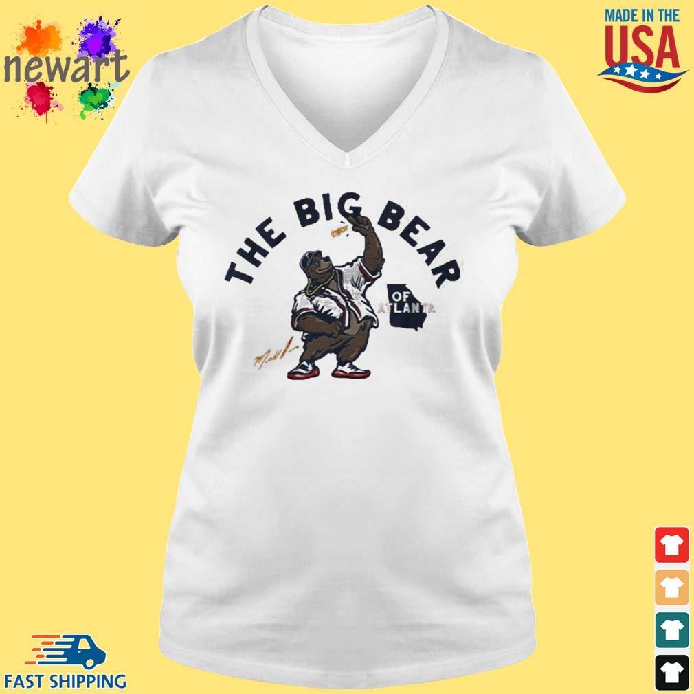 Big bear of atlanta s vneck trang